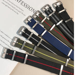 Nylon man watch band 20mm 22mm for Samsung Galaxy Watches Strap Sport Watch Band for Amazfit Huami Watch Nylon Watch Replacement