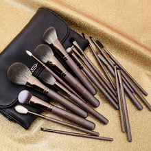 Makeup Brushes Set Professional Eigshow 18Pcs Complete Lucky Coffee with Cosmetic Bag Beauty Make Up Brush Kit 9pcs professional makeup make up cosmetic brush set kit tool with leather bag