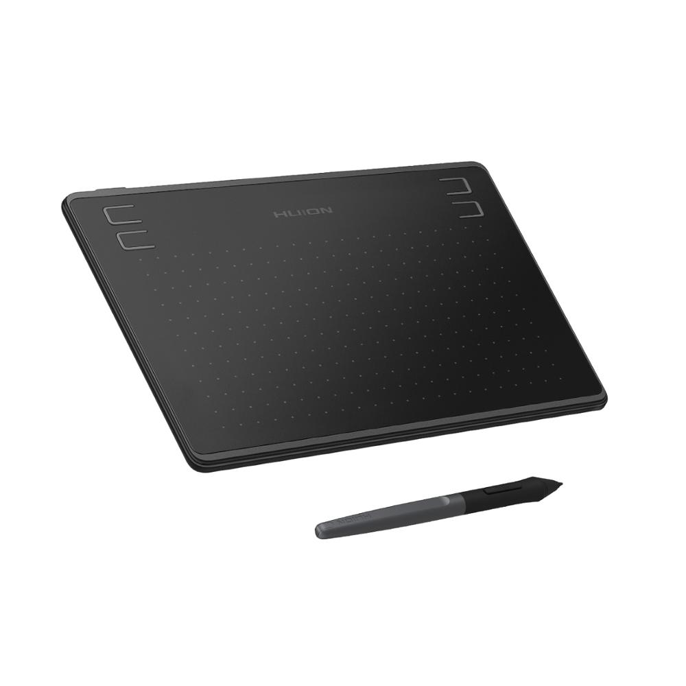 Tavoletta grafica HUION HS64 Tablet penna con stilo senza batteria 8192 livelli 4 tasti Express per Android Windows tek