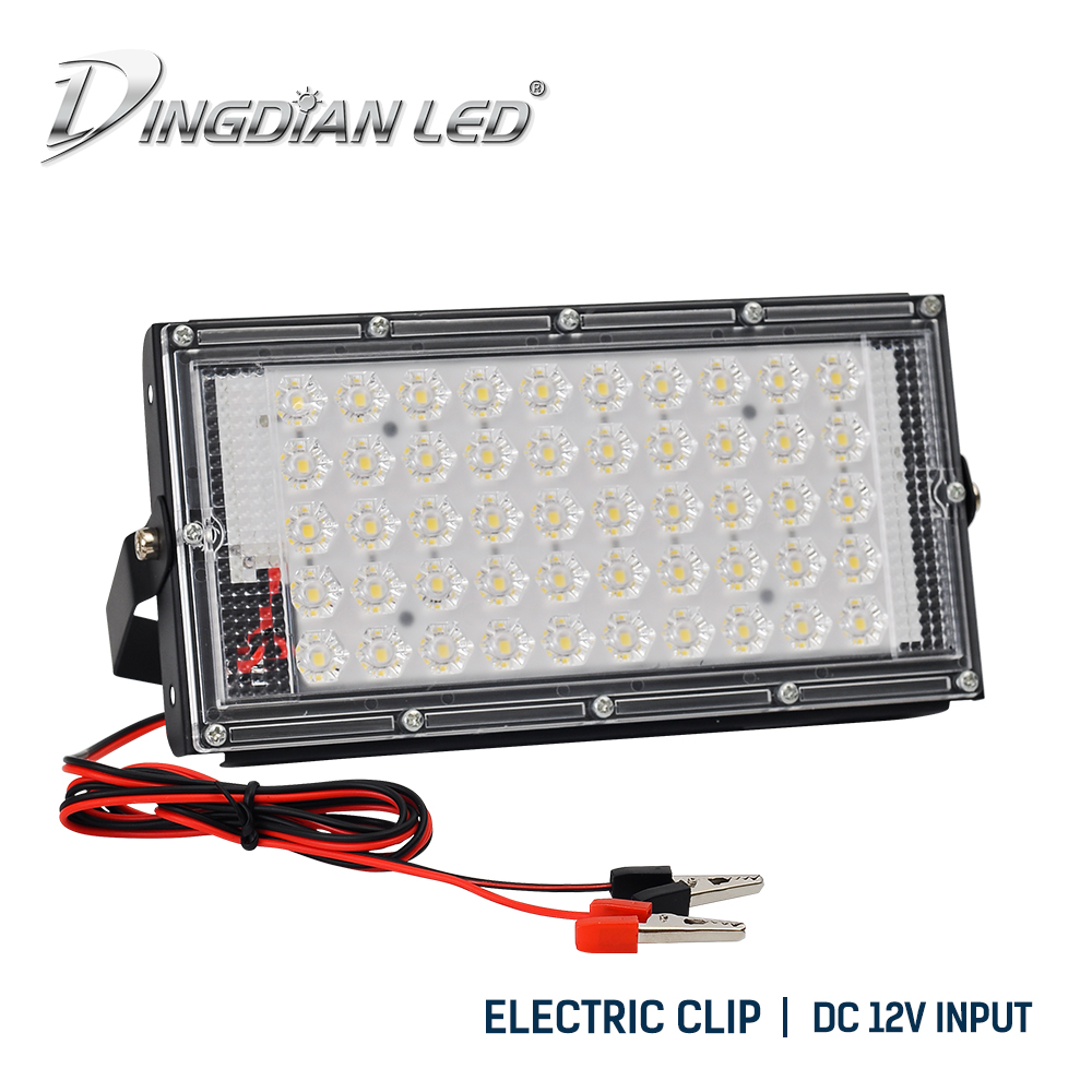 Crocodile Clip Led Flood Lights 50w