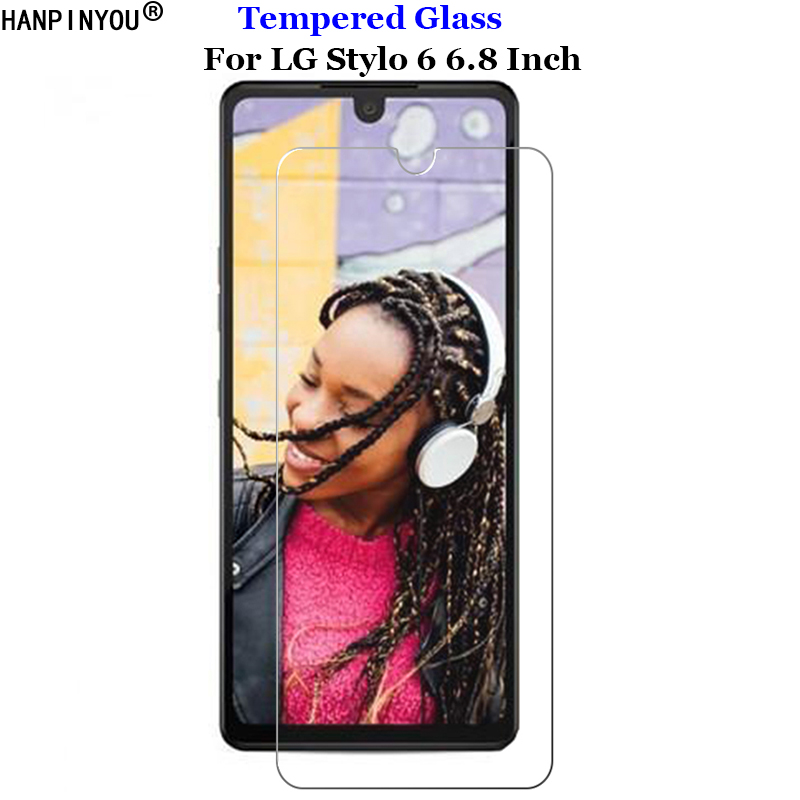 For LG Stylo 6 Tempered Glass 9H 2.5D Premium Screen Protector Portective Skin Film For LG Stylo6 6.8
