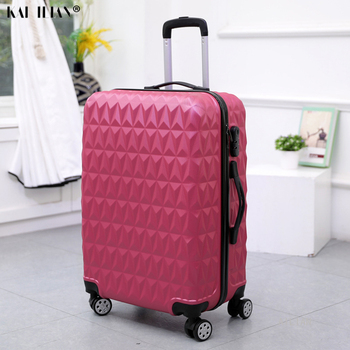 20''carry on luggage Cabin suitcase with wheels Women trolley case rolling luggage 28inch big bag fashion hardside luggage girls
