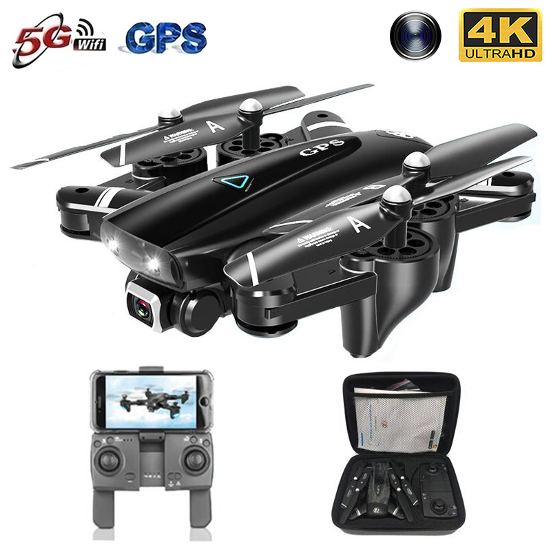 2020 New GPS Drone With Camera 5G WIFI FPV RC Foldable Quadcopter Drone 4K Off-Point
