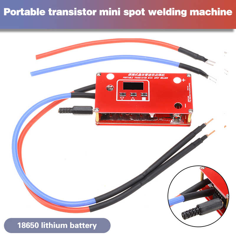 DIY Mini Spot Welder Machine Set Portable Li-ion Battery Welding Power Supply