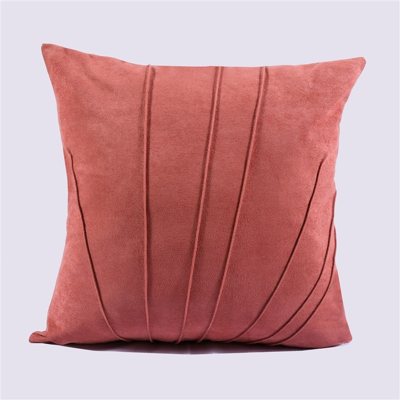 Solid Color Pillow Cover Shell Pattern Simple Throw Pillow Case Bedroom Car Home Decoration Cushion Cover 45x45cm 55x55cm in Cushion Cover from Home Garden