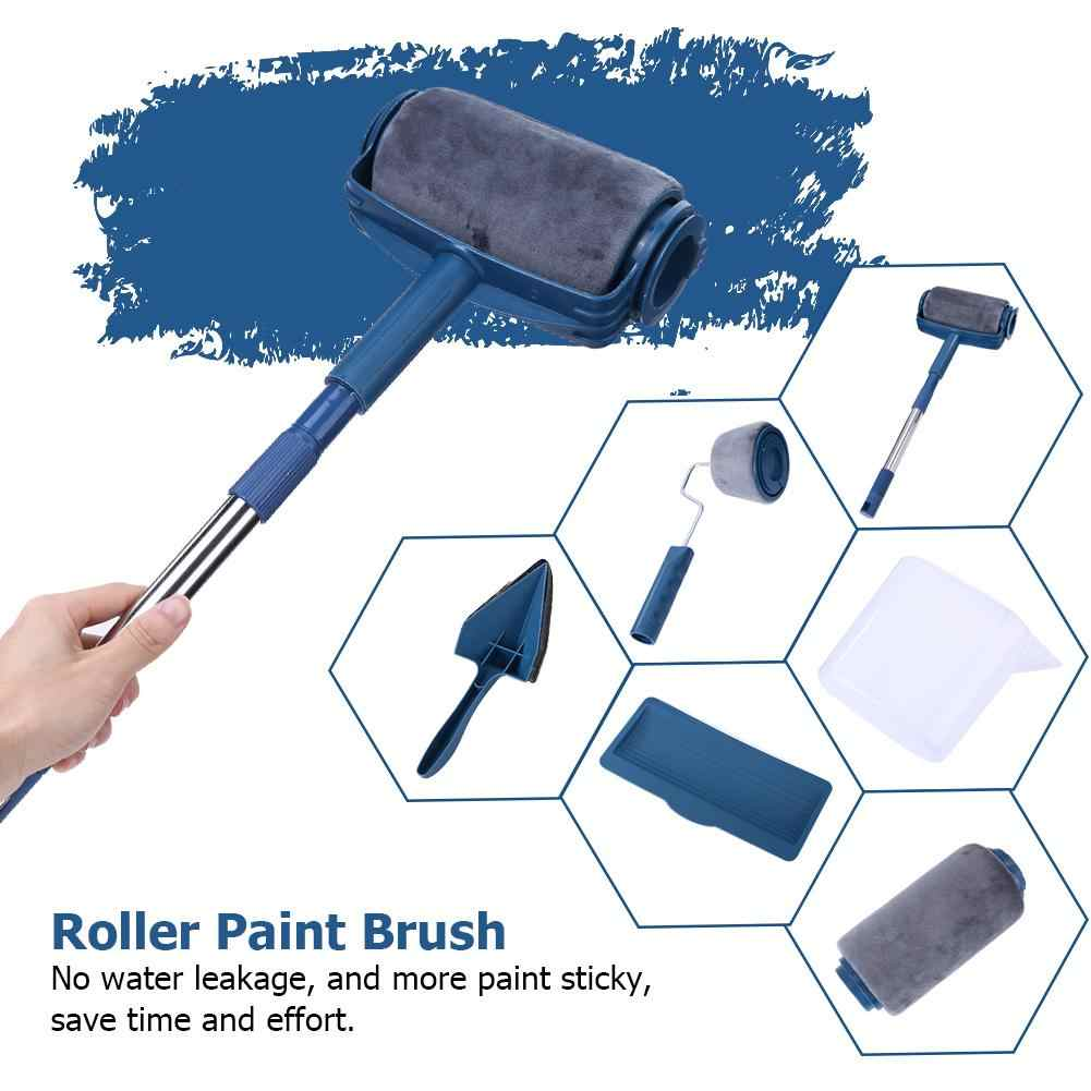 7PCS//set Paint Roller Runner Brush Pro Wall Painting Handle Wall Painting DIY