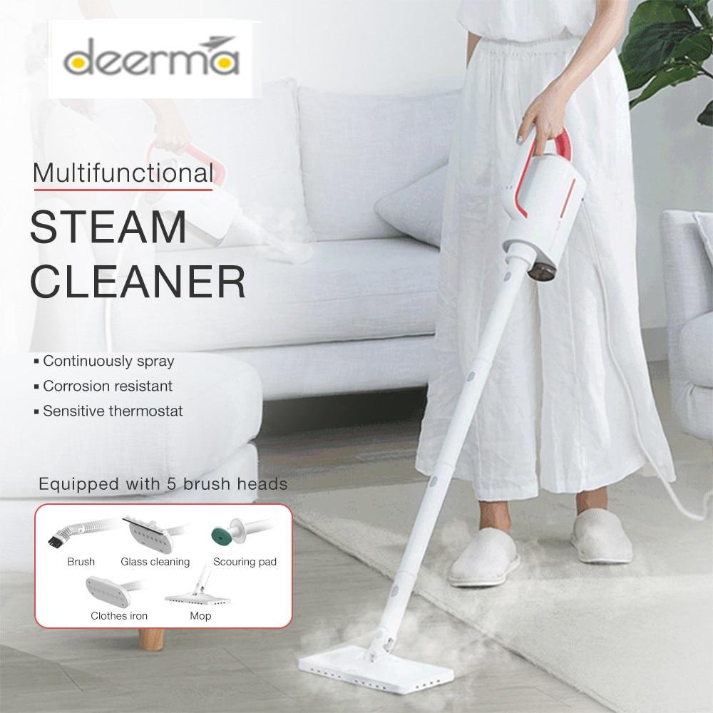 Deerma DEM - ZQ610 Handheld Steam Cleaner Steam Mop Cleaner Multifunctional Sterilization Anti-Dry Detachable Water Tank