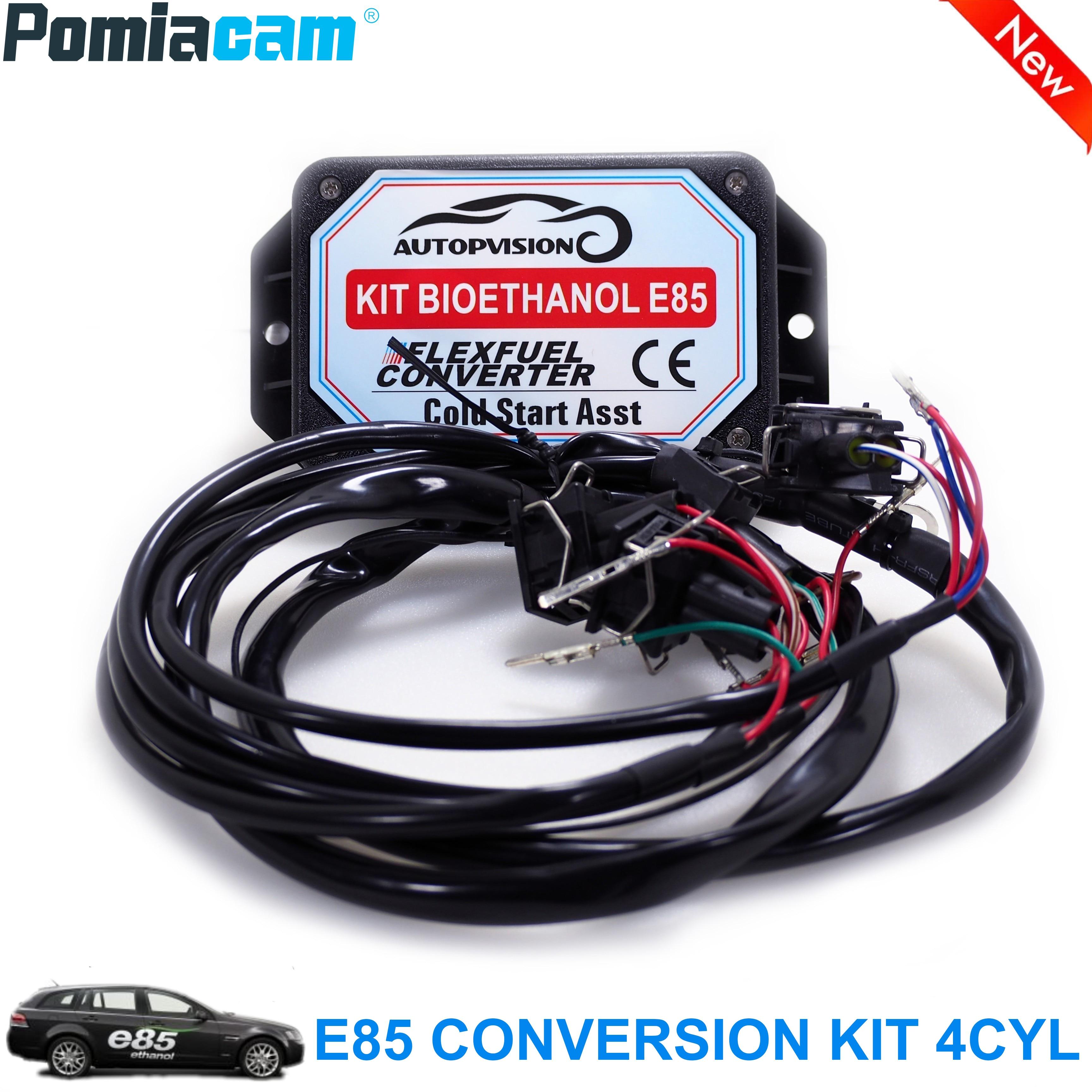 E85 4cyl bioethanol converter Auto conversion kit Flex Fuel ethanol alternative with Cold Start Asst. biofuel e85  ethanol car|Transmission & Cables| |  - title=