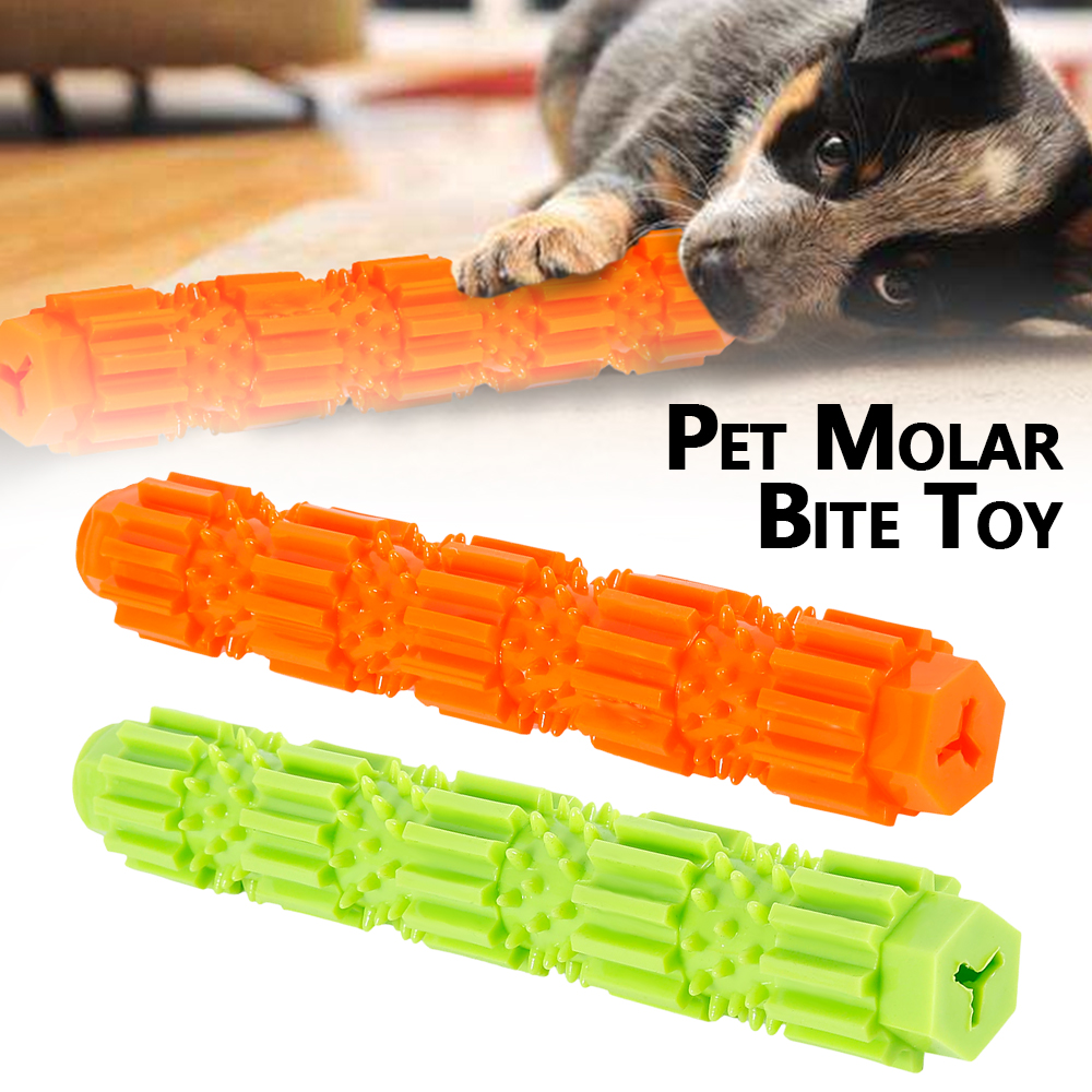 New Popular Toys  Pet Dogs Training Chew Pet Toys Strong Bite Resistant Toys Dogs Rubber Molar Toys for Cleaning Teeth