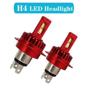 Niters 2 sztuk H4 H11 H7 9005 HB3 HB4 9006 9012 LED reflektor żarówki samochodowe canbus 100W 12000LM 6000k lampa biały samochód stylizacji światła