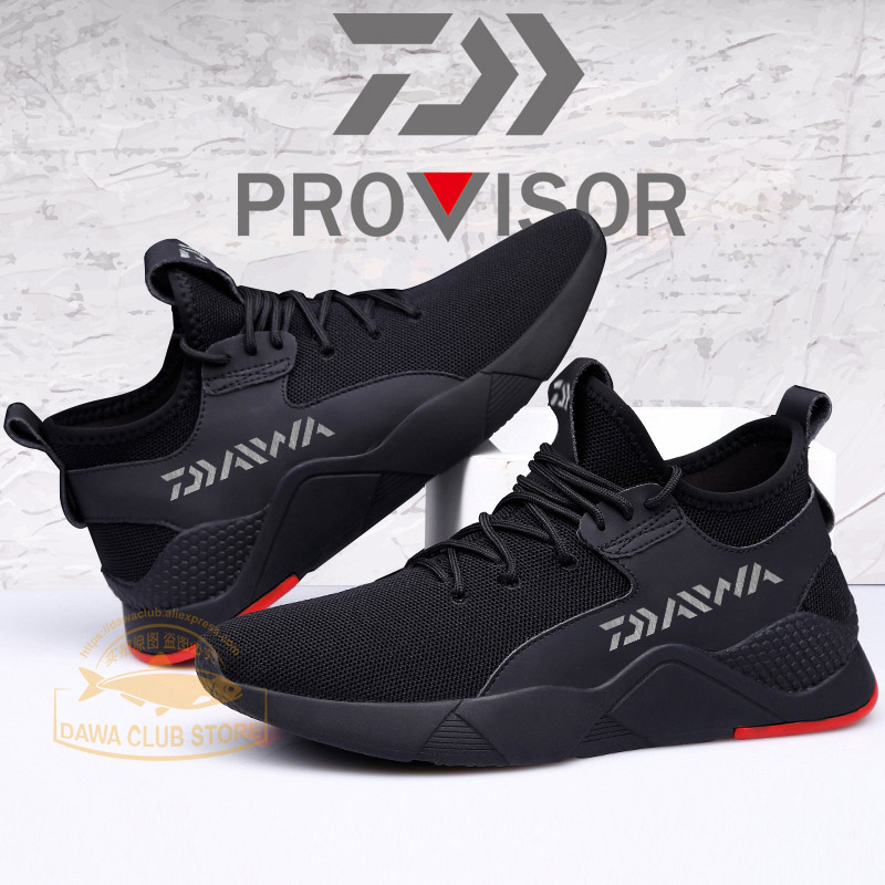 2020 Daiwa Men Outdoor Shoes Non-slip Fishing Shoes Dawa Breathable Wear-resis Fashion Outdoor Gym Shoes Climbing Casual Shoes