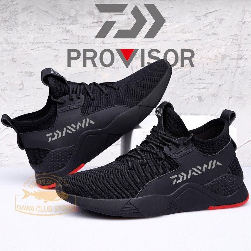 Sapatos ao ar Sapatos de Pesca Ginásio ao ar Sapatos de Escalada Homens Livre Não-deslizamento Dawa Daiwa Respirável Desgaste Resis-moda Sapatos Casuais 2020