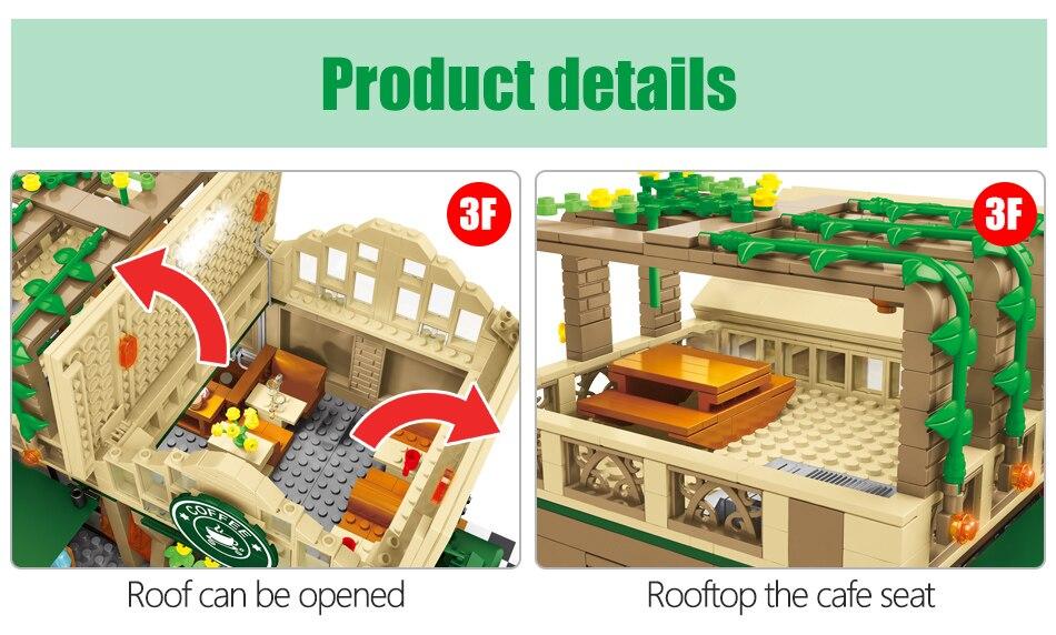 modelo blocos de construção cidade rua vista