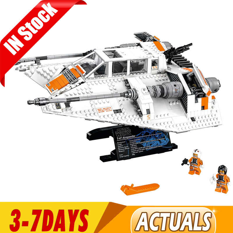 1457PCS Star Wars Series Snowspeeder Snowfield Compatible Building Blocks Bricks