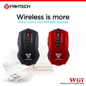 Image 2 - Fantech WG7 Không Dây 2.4 Ghz Chuột 2000 DPI 6 Vĩ Mô Chuột Quang 2.4 GHz 10M Khoảng Cách Điều Khiển Từ Xa Chuột game Thủ