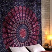 Large Wall Tapestry Indian Mandala Hanging Fabrics Elephant Psychedelic Boho Decor Dorm Carpet Blanket Mattress
