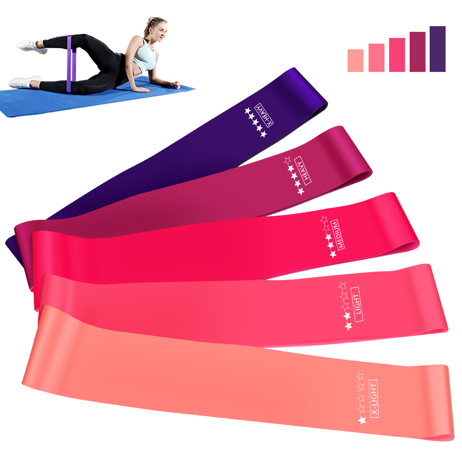 Crossfit Workout Resistance Bands Fitness Elastic Rubber Bands Training Workout Mini Bands Home Gym Home Yoga Strength Equipment|Resistance Bands| - AliExpress