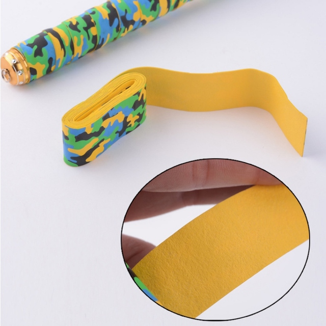 new 1pcs Breathable Fishing Rod Overwraps Fishing Pole Handle Cover Wrap Sweat Absorbing Belt Anti-slip Fishing Rods Accessories 1