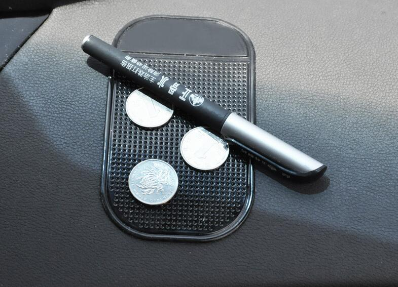 Черный Противоскользящий автомобильный липкий гелевый коврик нескользящий универсальный держатель коврик моющийся силиконовый гелевый коврик автомобильные аксессуары Горячая Распродажа