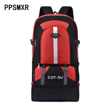 New 60L Outdoor Backpack Waterproof Climbing Camping Travel Sports Bag 600D High Capacity Cycling Hiking Unisex