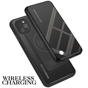 Image 5 - For iPhone 11 11 Pro 11 Pro Max Case 5000mAh 2 In 1 Gradient Magnetic PowerBank Wireless Charger Case For iPhone 11 Battery Case