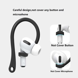 Image 5 - Anti Lost Sport EarHook For AirPods Pro Protective Case Holder For Wireless Earphone EarBuds Hooks