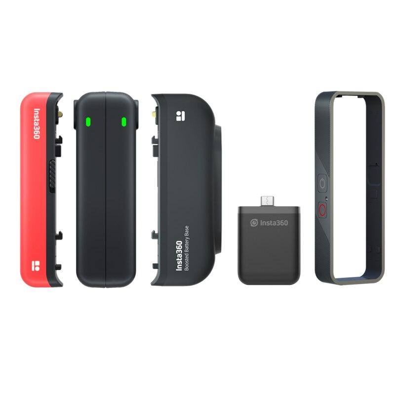 База для батарей Insta360 One R, Вертикальная батарея с поддержкой быстрой зарядки для Insta360 One R, аксессуары