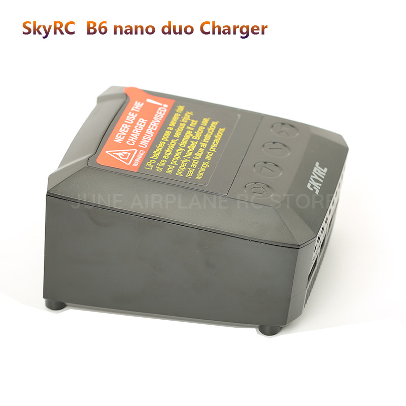 Image 3 - SKYRC smart B6 nano duo  2X100W 15A AC Bluetooth Smart Battery Charger Discharger Support SkyCharger APP-in Parts & Accessories from Toys & Hobbies