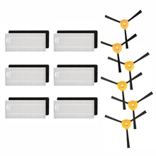 Replacement Filters+Side Brush Kit For Ecovacs Deebot N79 N79S Robotic Vacuum Cleaner Side Brushes Filter Spare Parts Accessory