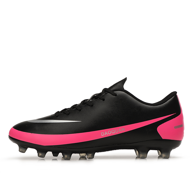 2021 New Arrival Men's Soccer Shoes Large Size Ultralight Football Boots Boys Sneakers Non-Slip AG/TF Soccer Cleats Ankle Boots 9