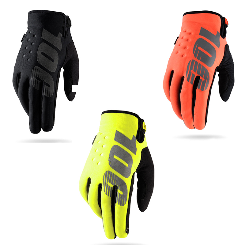 Winter Outdoor Sports Long Finger Gloves Cycling Gloves Thickening Bike Gloves Motocross Gloves Full Finger Bicycle Gloves