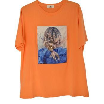 Модная футболка принцессы Женская модная футболка для девочек с графическим принтом летняя футболка женская футболка фото