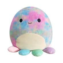 Squishmallow Plush Toys Animals Doll Kawaii Octopus Soft Cute Pillow Buddy Stuffed Cartoon Pillow Birthday Gifts For Kids Girls