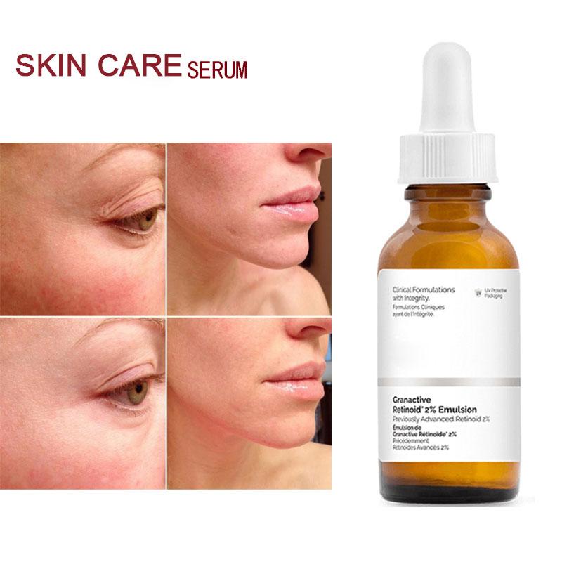 The Ordinary Serum Granactive Retinoid 2% Emulsion Skin Rejuvenation Anti Aging Face Firming Reduce Wrinkle 30ml Face Serum