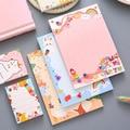 Yisuremia Kawaii Schatz 50/100 Blätter Memo Pads Hinweis Papier Nachricht Nette Dekorative Notizblock Büro Schreibwaren Schule Liefert