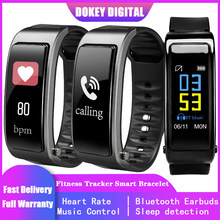 "Y3 Plus Smart Watch Bluetooth Earphone Men for IPHONE Android Apple IOS Fitness Tracker Bracelet 1.3"" Heart Rate Monitor Sleep(China)"