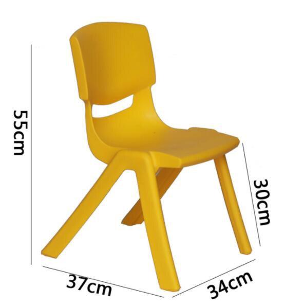 Kindergarten Chairs Stool Children Small Seat-Height 30cm Thicken Safety Back-Rest