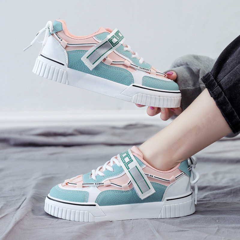 SHOFORT Women Shoes Canvas Shoes Wild Casual Women's Platform Shoes Spring Autumn Zapatos De Mujer Sapato Feminino