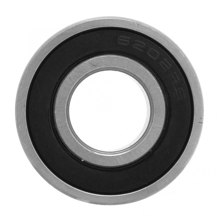 2 Pcs Premium 6202 2RS ABEC3 Rubber Sealed Deep Groove Ball Bearing 15x35x11mm