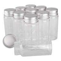 15 шт., 60 мл, 37*80 мм, стеклянные бутылки с алюминиевыми крышками, стеклянные бутылки для специй, стеклянные банки для контейнеров, флаконы для р...