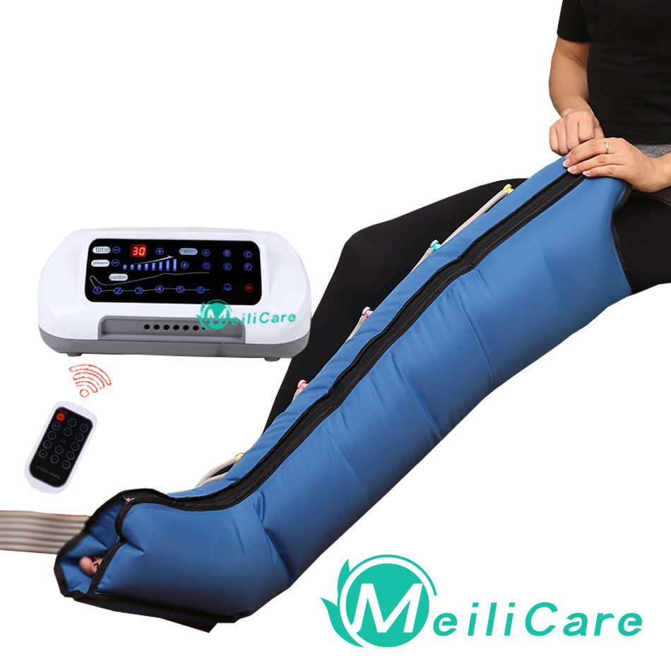 Pressotherapie Luft Kompression Bein Fuß Massager Vibration Infrarot Therapie Arm Taille Pneumatische Air welle druck maschine