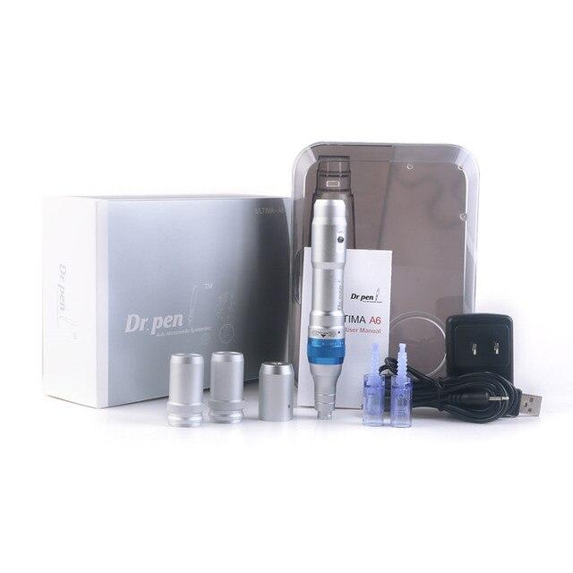 Electric Dr.Pen A6 Permanente Microblading Tattoo Needles Pen Makeup Machine Eyebrows Eyeliner Lips Micro Needling Tool 3