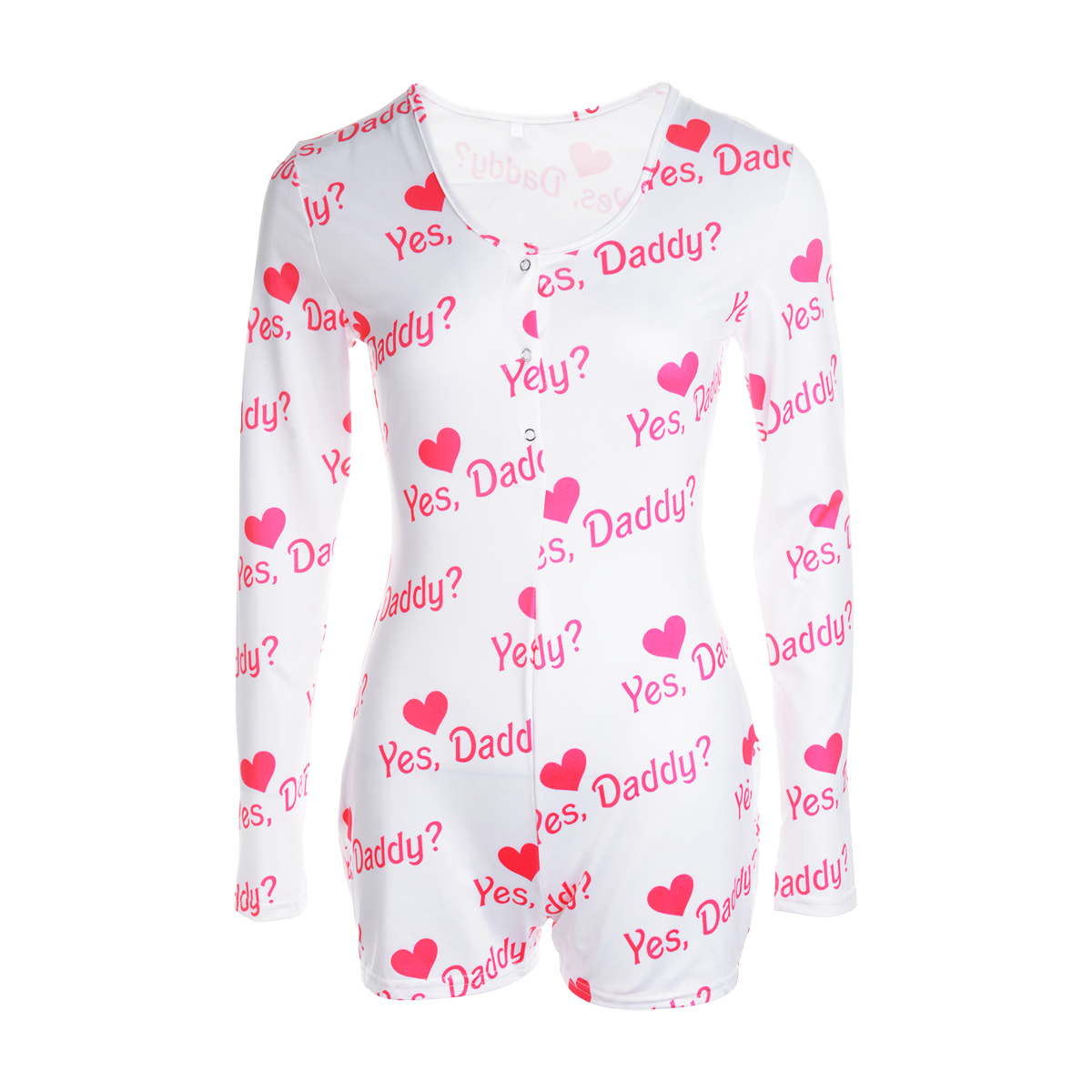 Casual Playsuits Women 2021 U Neck Bodycon Sexy Short Jumpsuits Cute Printed Romper Sleepwear Pajamas Female Summer Autumn
