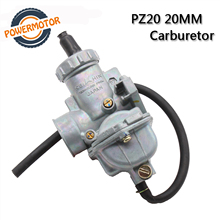цена на PZ20 20mm Carburetor manuel choke Carb Carburador For 50cc 70cc 90cc 110cc 125cc 135 For Kazuma ATV Quad Go Karts Moped SUNL