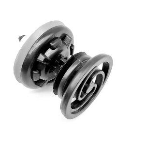 Image 3 - 10pcs Auto Car Fastener Clips Body Pin Rivet Bumper Door Retainer for Volkswagen VW Golf MK6 Jetta Passat CC Car Accessories