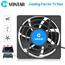 VONTAR C1 Cooling Fan for Android TV Box Set Top Box Wireless Silent Quiet Cooler DC 5V USB Power 80mm Radiator Mini Fan 80x80x2