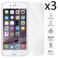 [3 UNIDS] iPhone 7 Plus / 7s Plus / 8 Plus , Protector pantalla cristal templado, transparente, antiarañazos, antigolpes