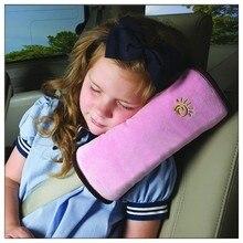 Almofada de cinto de segurança do carro do carro do descanso do carro proteger almofada de ombro do assento do veículo para crianças do bebê playpens carros acessórios