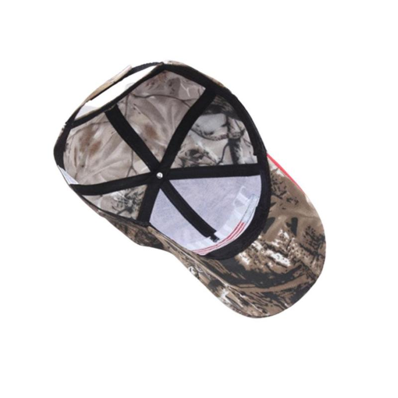 Camouflage Baseball Custom Trump Hat Embroidered Print Foreign Trade