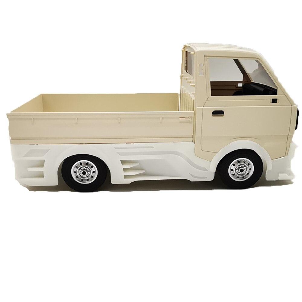 Resin Wide Body Surround Encirclement Drift DIY Kit for WPL D12 RC Drift Truck